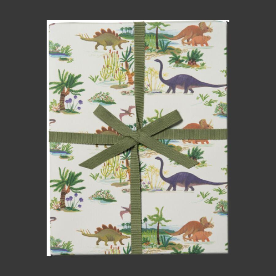 Упаковочная бумага Dinosaurs