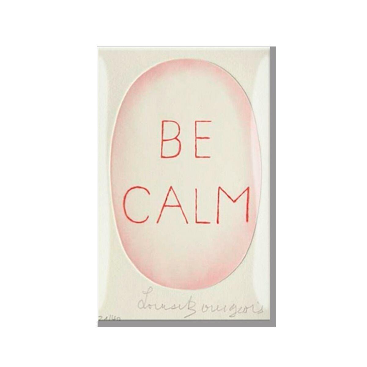 "Magnet ""Be calm"""