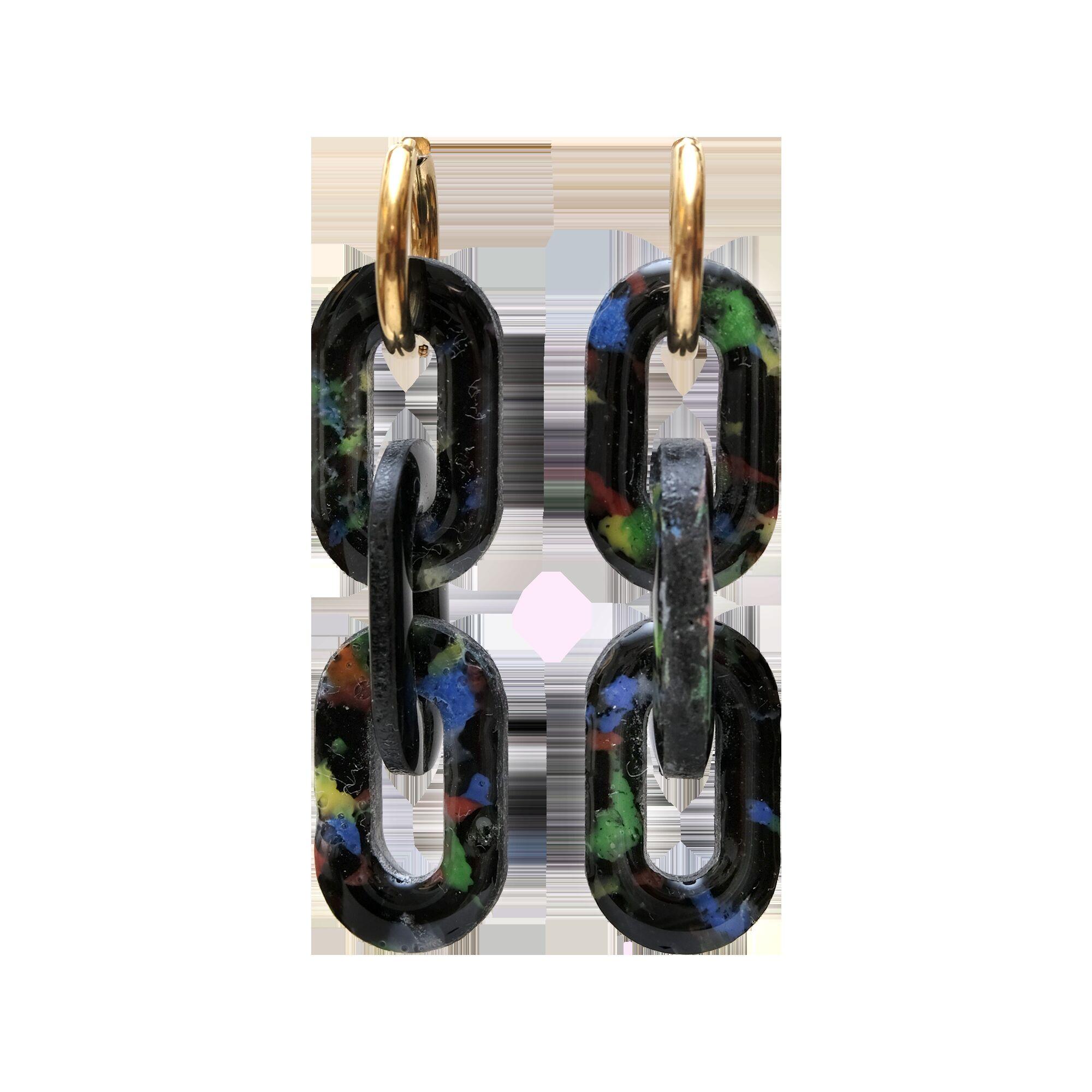 Серьги Chain
