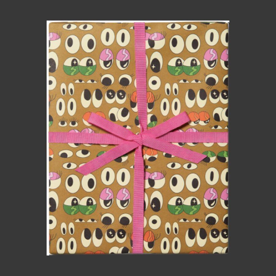 Упаковочная бумага Eyeballs
