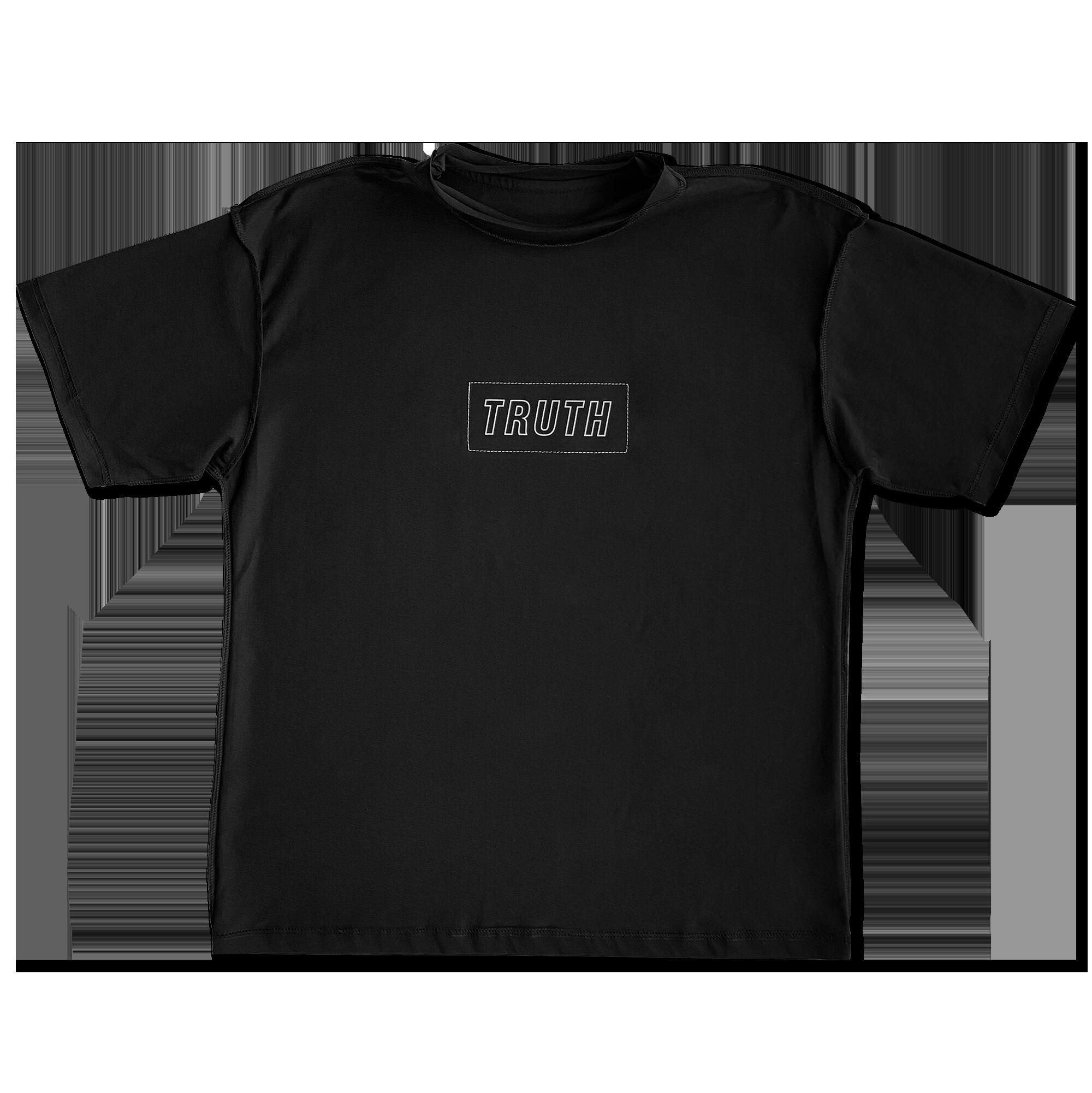 Двусторонняя футболка FAKE — TRUTH