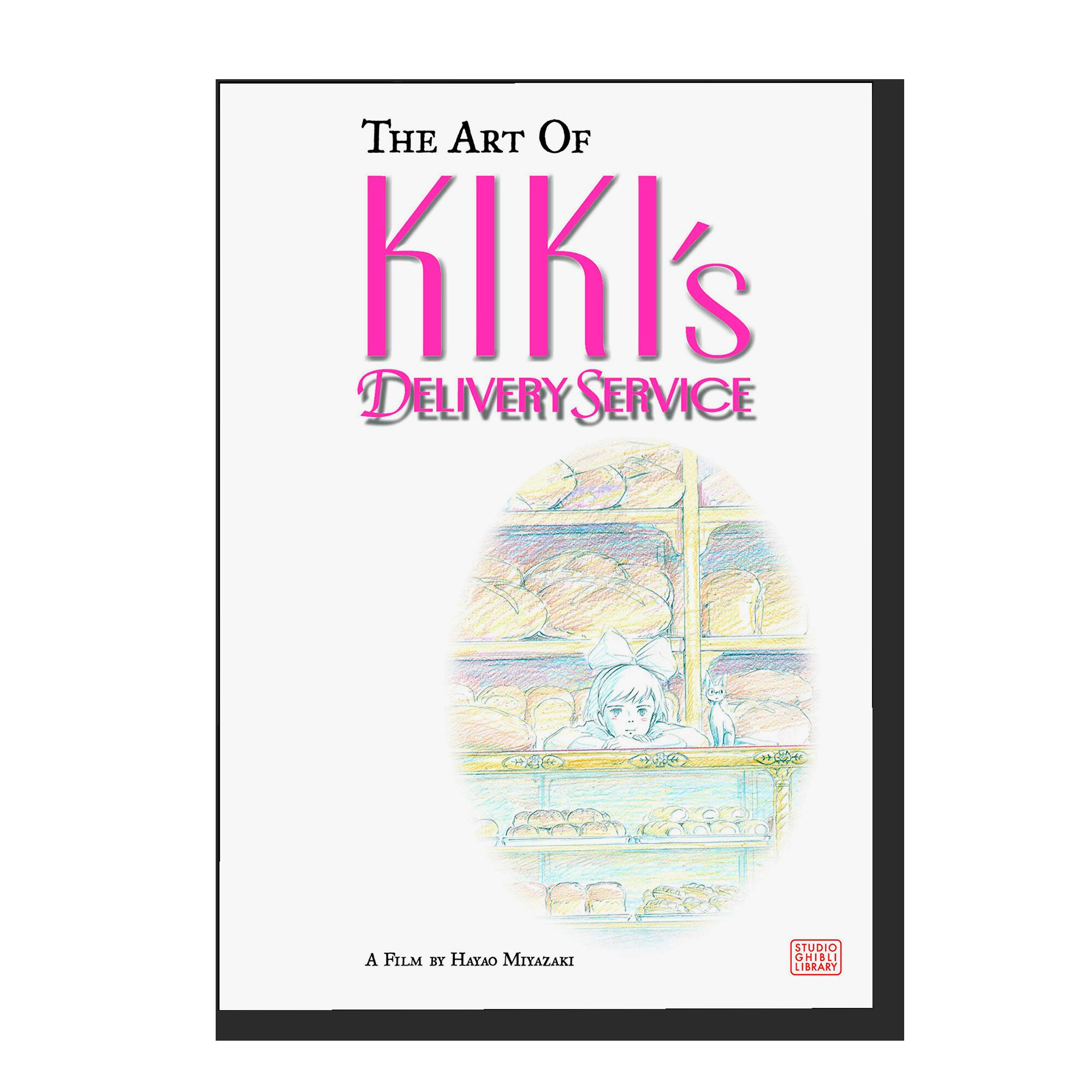 The Art of Kiki's Delivery Service: A Film by Hayao Miyazaki