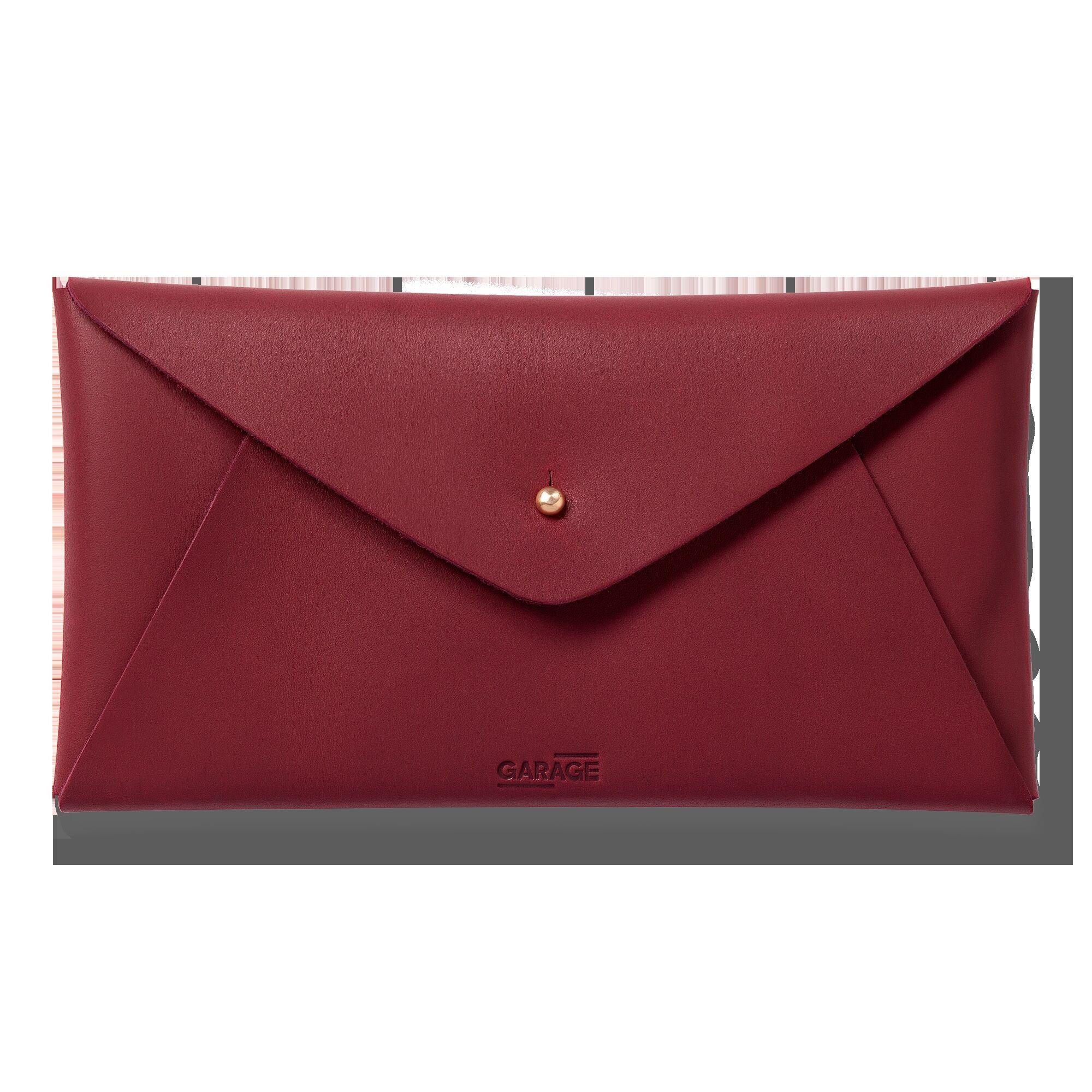 All-purpose purse, burgundy