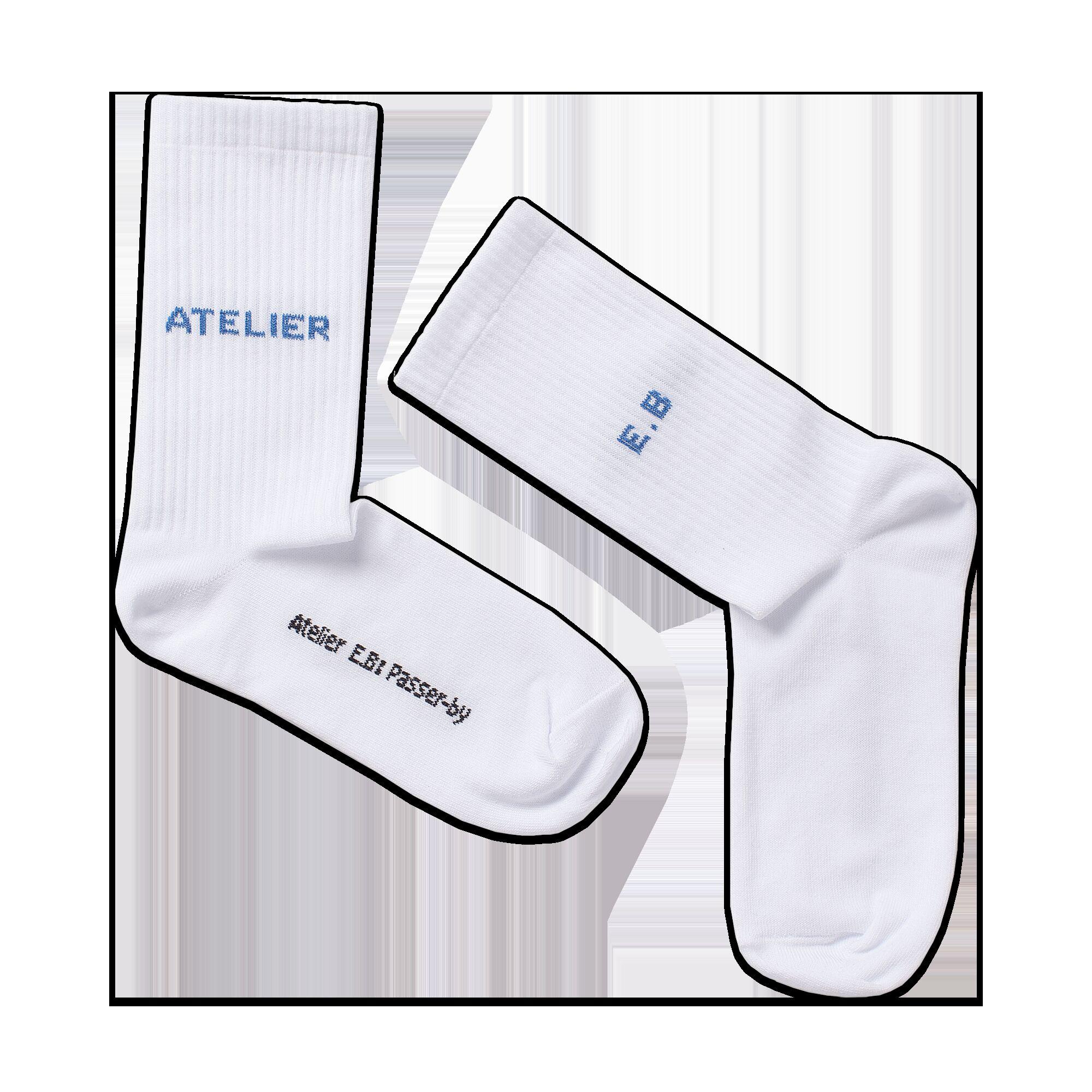 ATELIER E.B socks