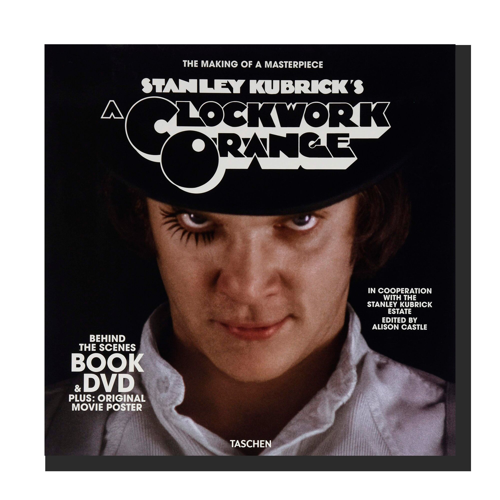 Kubrick's A Clockwork Orange. Book & DVD Set