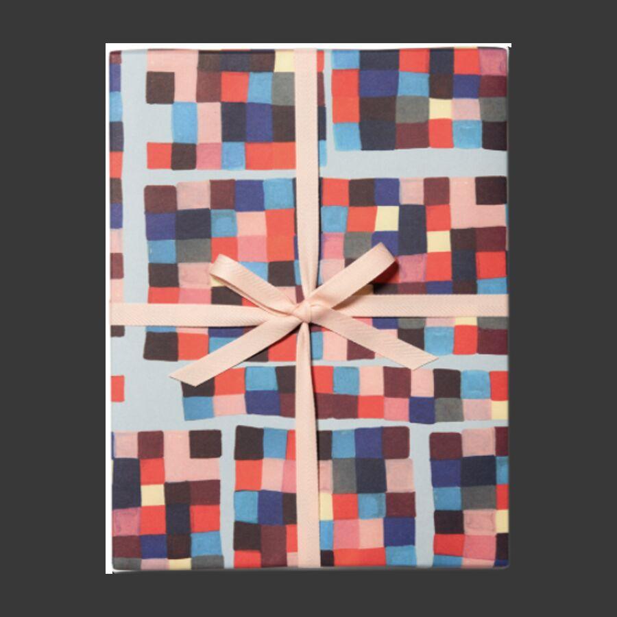 Упаковочная бумага Pixels