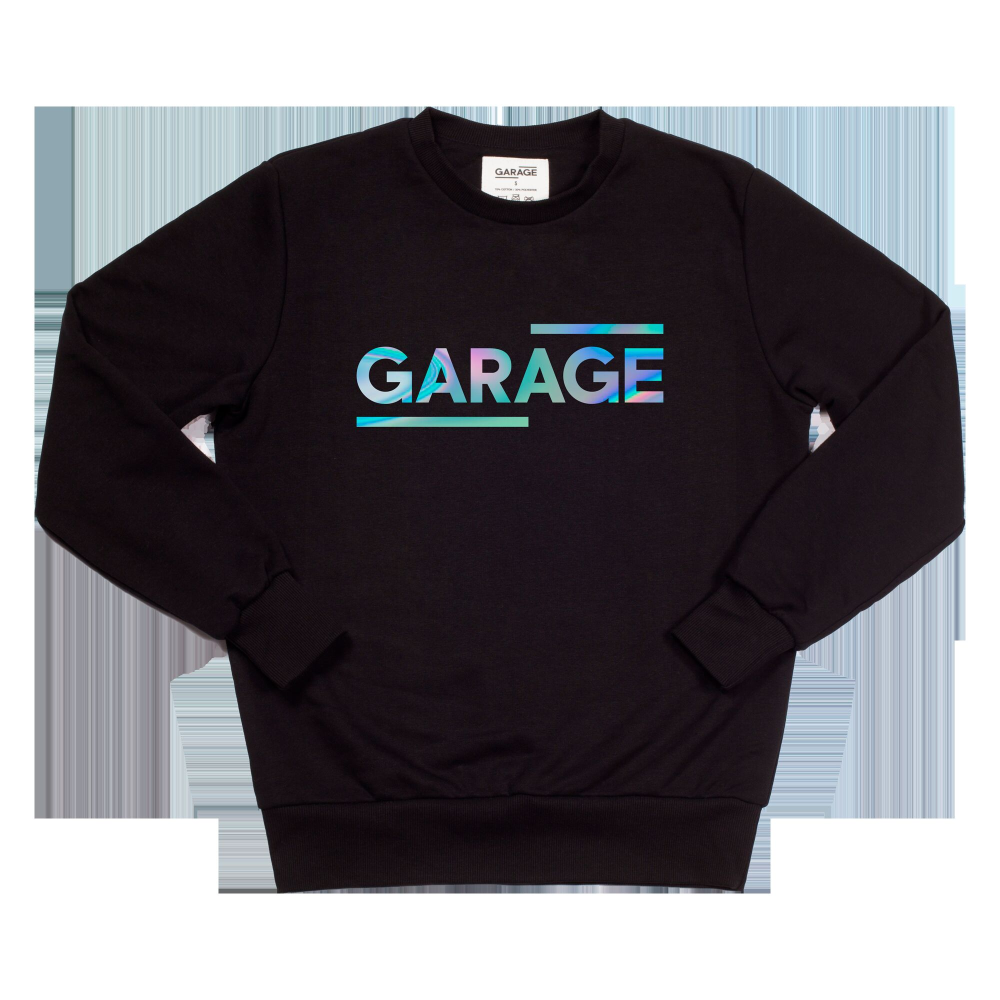 GARAGE sweatshirt Logo color: spectrum