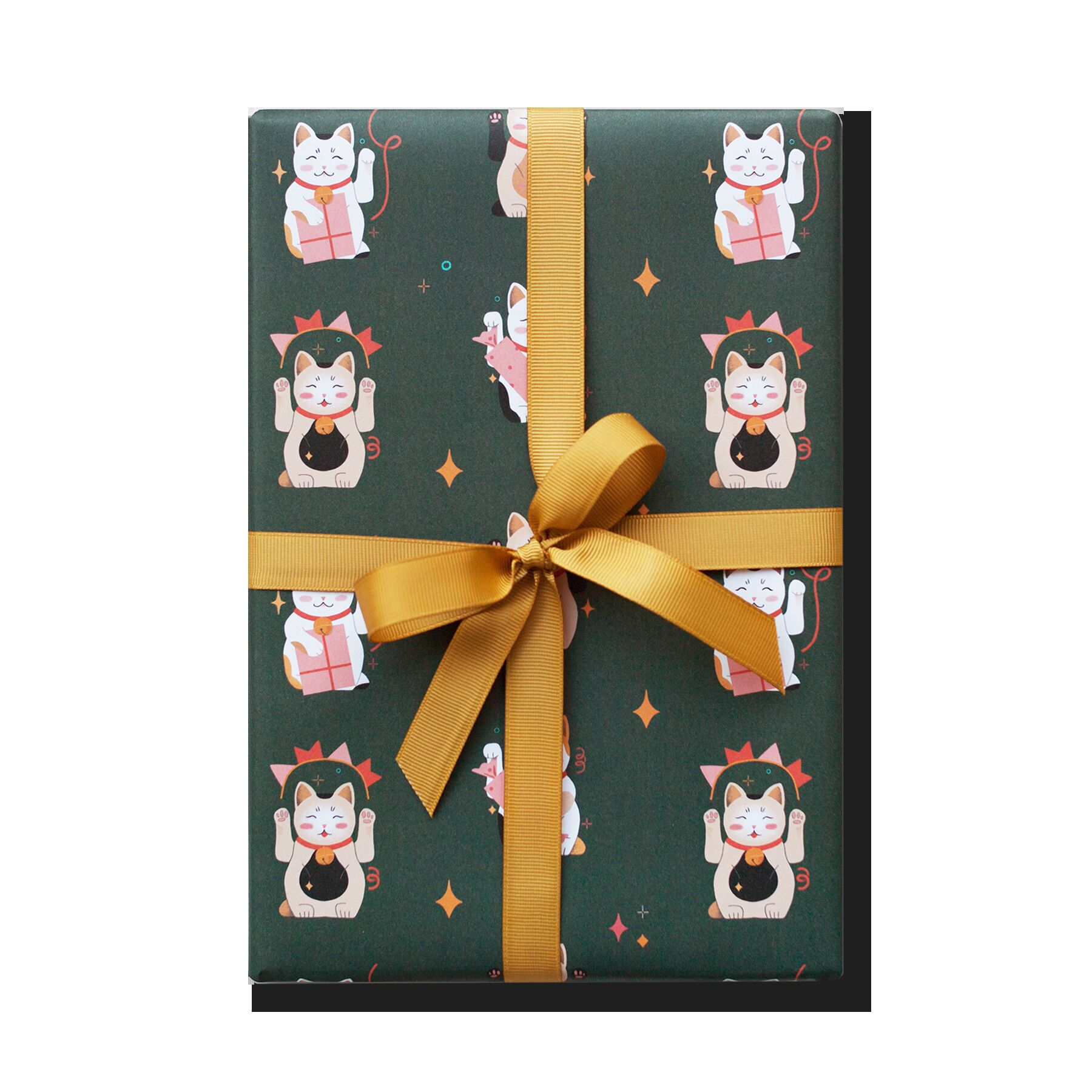 Упаковочная бумага Lucky Cats