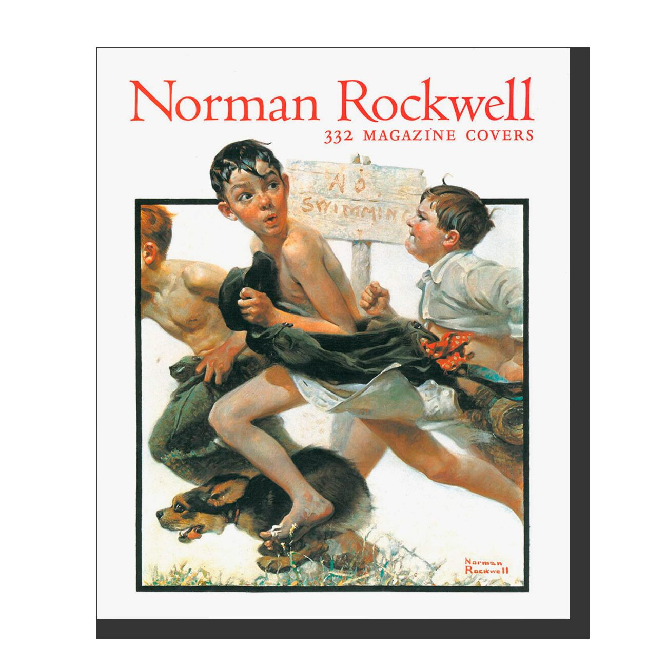 Norman Rockwell: 332 Magazine covers