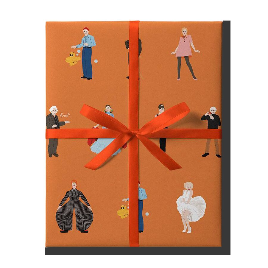 Упаковочная бумага Famous People