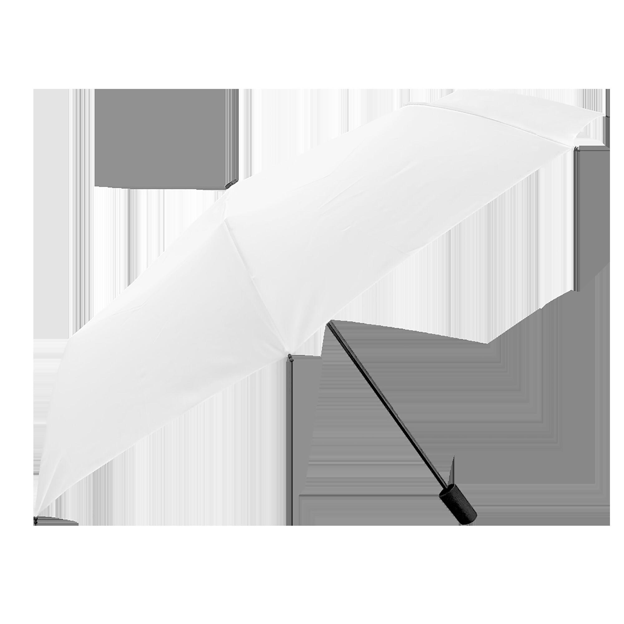 Зонт белый складной