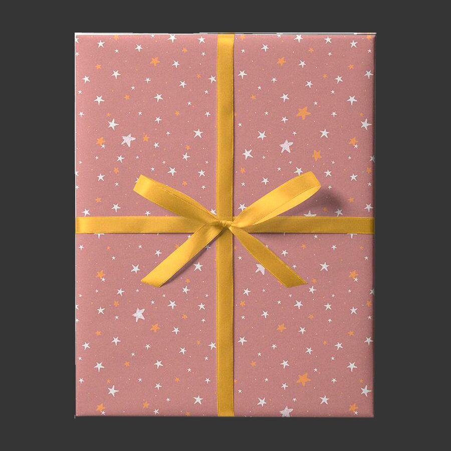Упаковочная бумага Nude Stars